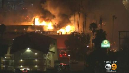 Super 8 Motel Fire